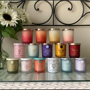 DW Home Candles - Your Choice of 3- 3.8oz each 🌺